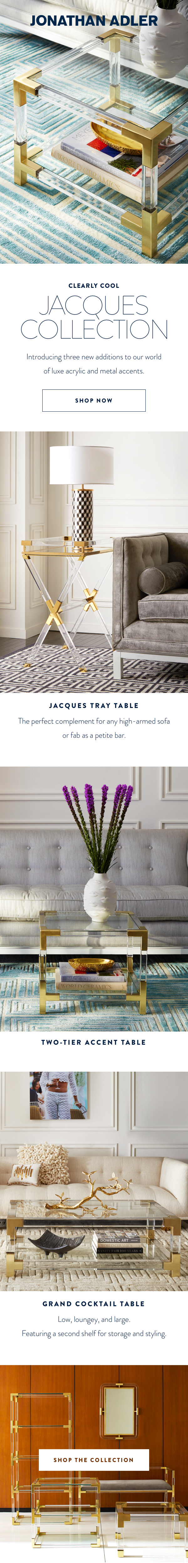 Jacques Collection Email